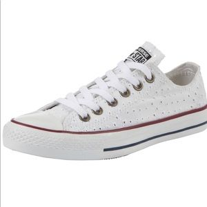 Converse Cut-Out Canvas Low-Top Sneakers